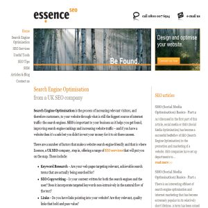 Essence SEO Services