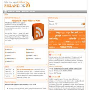 Tilmeld RSS Feed til RSSLand.dk