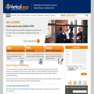 Vertical Leap - Search Engine Optimisation - Search Engine Optimization, Search Engine Optimisation, Search Engine Ranking