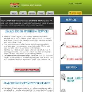 Submit Tycoon - Organic SEO Services