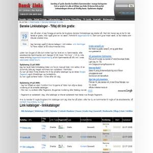 Linkkataloger - Submit link to Danish directories