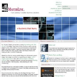 MasterLink - Dallas Web Design