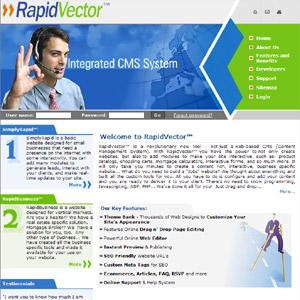 RapidVector CMS