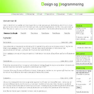 jweber.dk - Design og programmering